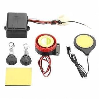 motocicleta tarjeta ic moto inducción alarma inmovilizador cerradura invisible: Amazon.es: Juguetes y juegos