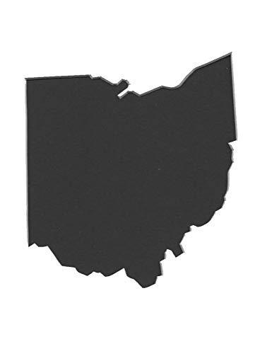 オハイオ州立大学ステンシル4枚セット 4枚重ねマットボード 11x14 8x10 5x7 4x6 B07J2HMBQ1