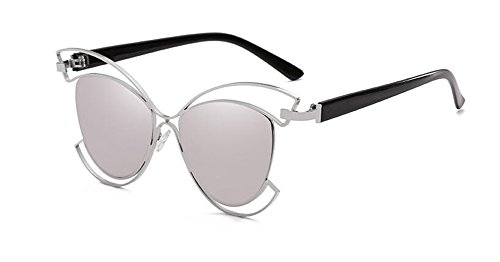 vintage retro Blanc métallique lunettes rond Mercure Lennon soleil polarisées cercle inspirées style de du en 60Yqw6B