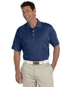 adidas Golf Mens Climalite Basic Short-Sleeve Polo (A130) -Navy -L