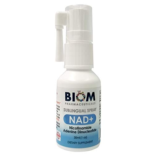 Sublingual NAD+ Spray (Single dose 125 mg) Nicotinamide Adenine Dinucleotide (NAD+) + Free 2 Day Cold - Spray Sublingual