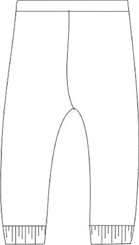 Baby Jay Unisex-Baby' Legging 18-24 (2T) White