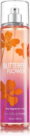 Bath and Body Works Butterfly Flower Body Mist Splash