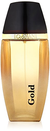 - Lomani Eau de Toilette Spray for Men, Gold, 3.3 Ounce