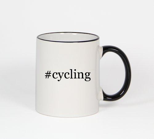 cycling-funny-hashtag-11oz-black-handle-coffee-mug-cup