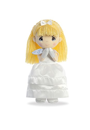 Aurora World Precious Moments Plush Toy Doll, Precious Faith Doll, (Angel Doll)