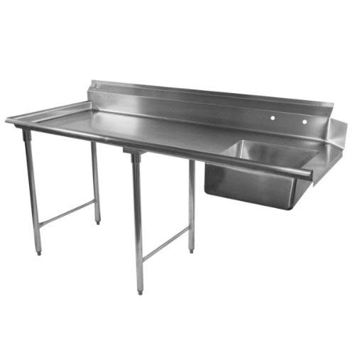 Heavy Duty Stainless Steel Soiled Dishtable 84