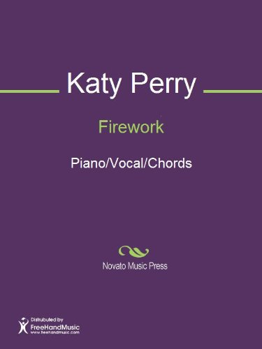 Firework Sheet Music Pianovocalchords Kindle Edition By Katy