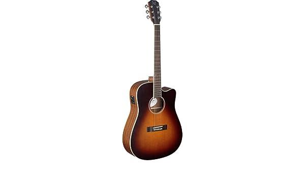 James Neligan EZR-DCFI Electro-Acústica Guitarra mit Cutaway Cedar ...