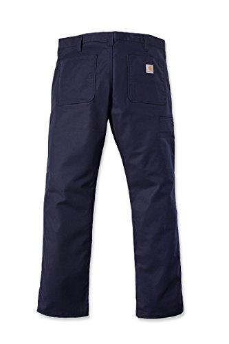 Carhartt Navy Men Stretch Rugged Pants Canvas FXUPrFB