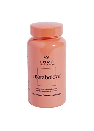 Love Wellness Metabolove - Metabolism Booster - 30 Day Supply - Curbs Food Cravings - Helps Boost Energy - Stimulant Free - Vegan & Gluten Free - Safe & Effective Daily Supplement
