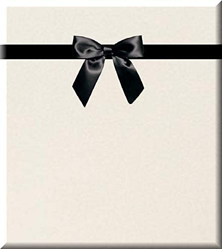 Solid Ivory Cream Gift Wrap Wrapping Paper-15ft Roll w. Gift Tags