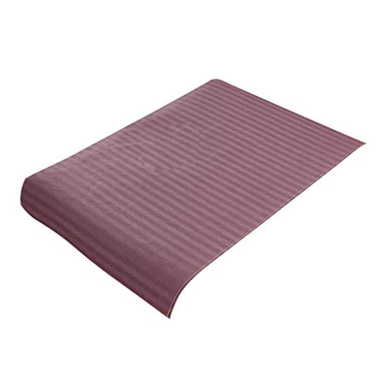 冗談でレビュー明るくするFLAMEER 美容ベッドカバー マッサージ台スカート コットン生地 スパ マッサージベッドカバー 全7色 - 紫