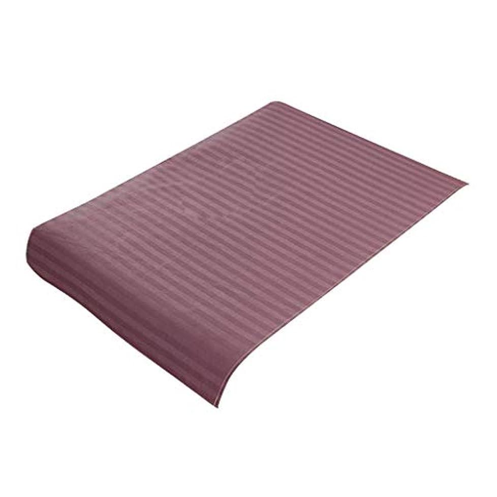 包帯非行割るP Prettyia スパ マッサージベッドカバー 美容ベッドカバー 綿製 断面 マッサージテーブルスカート 60x90cm - 紫