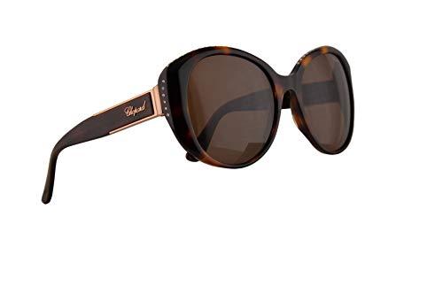Chopard SCH191S Sunglasses Havana Brown w/Brown Lens 54mm 0748 SCH191/S SCH ()