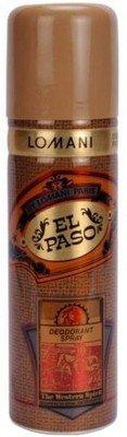 - Lomani El Paso Deodorant Spray - For Men(200 Ml)
