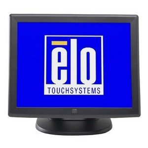 Elo 1000 Series 1515L Touch Screen Monitor - 15 - Surface Acoustic Wave - 1024 x 768 - 4:3 - Dark Gray - E700813