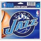 """WinCraft NBA Utah Jazz Multi-Use Colored Decal, 5"""" x 6"""""""