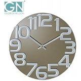 ケイ・コーポレイション ジョージ・ネルソン 壁掛け時計 ミラー・クロック グレー GN412 1006570