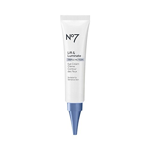 No7 Lift & Luminate Triple Action Eye Cream - .5oz