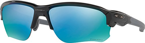 Oakley Men's Flak Draft Polarized Iridium Rectangular Sunglasses, Polished Black, 67.01 - Amazon Glasses Oakley