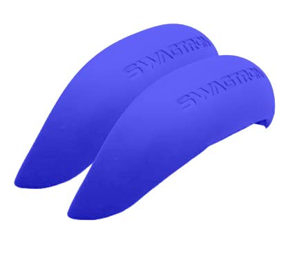 Swagtron Rubber Fender Bumper Covers (One Pair) (Blue, T380) by Swagtron