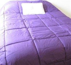 100% Cotton Twin XL Comforter - Purple Twin Extra Long