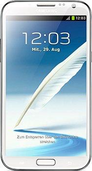 bolsa del cinturón / funda para Samsung Galaxy Note 2, negro + Auriculares   caja del teléfono cubierta protectora bolso - K-S-Trade (TM)