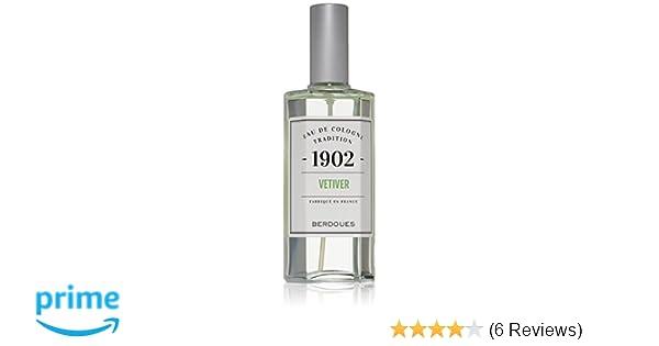 Amazon.com: Berdoues Eau de Cologne Spray, Vetiver, 4.2 Fl Oz: Luxury Beauty