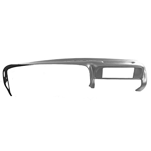 DashSkin Molded Dash Cover Compatible with 97-00 GM SUVs and Pickups in Medium Grey