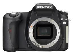 Pentax K110D 6.1MP Digital SLR Camera with 1855mm f/3.55.6 Lens from Pentax