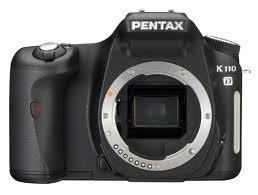 Pentax K110D 6.1MP Digital SLR Camera (Body Only) Pentax Focusing Screen