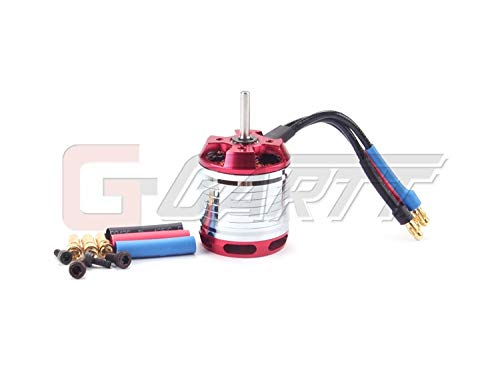 Yoton Accessories 450 Helicopters Motor HF450L-1800KV Brushless Motor 4S-6S Lipo Power for 450L Align Trex RC 3D Helicopter - (Color: - Brushless 450l Motor