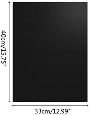 Abcidubxc Lot de 3 tapis de gril anti-adhésifs, tapis de barbecue réutilisables, épais, résistant aux hautes températures, facile à nettoyer, 33 x 40 cm
