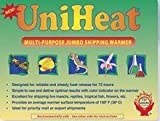 Multi-purpose jumbo 72-hour Uniheat Heat Pack for Cold Weather Shipping Plants, Live Insects, Reptiles, Tropical Fish and other temperature sensitive products. Protect products from cold weather. 5 PK