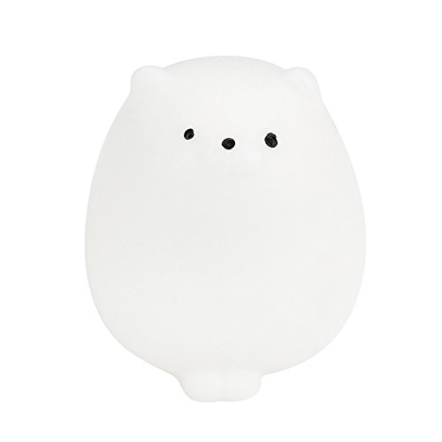 Binory Slow Rising Squishy Toy, Cute Mochi Squishy Fat Cat&Pink Rabbit Squeeze Healing Fun Toy Stress Reliever Decor for Kids Party Toys Stress(A)