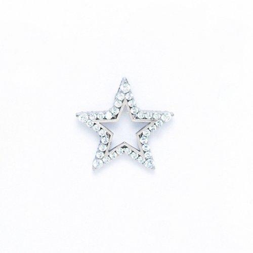 14 k or pendentif étoile PW60