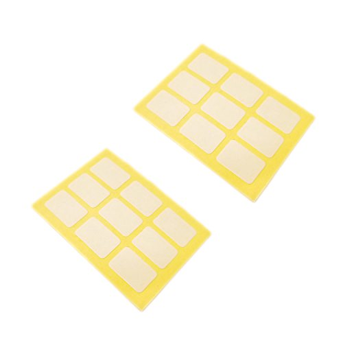 Stickers for Privacy Screen (Replacement Set of Transparent Sticker Tabs for Laptop Privacy Filter) by Homy