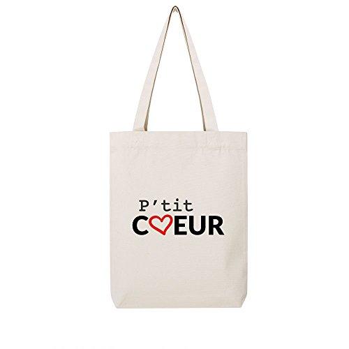 recycle toile natural ptitcoeur bag Tote en zxw4RWU