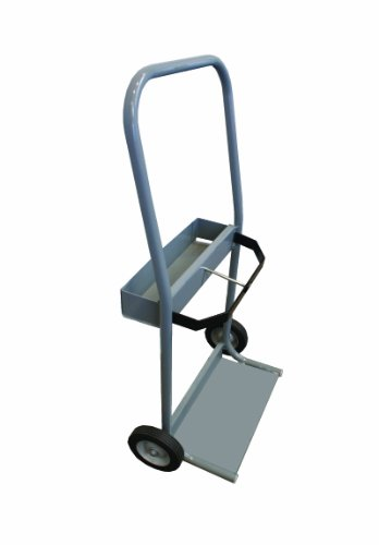 Thoroughbred TBCRT3 Gray Steel Cylinder Cart Size 3