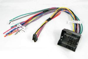 Carxtc Car Radio Electronic Wire Harness and Relay for Installing an Aftermarket Stereo, Fits Volkswagen Jetta 2002-2014