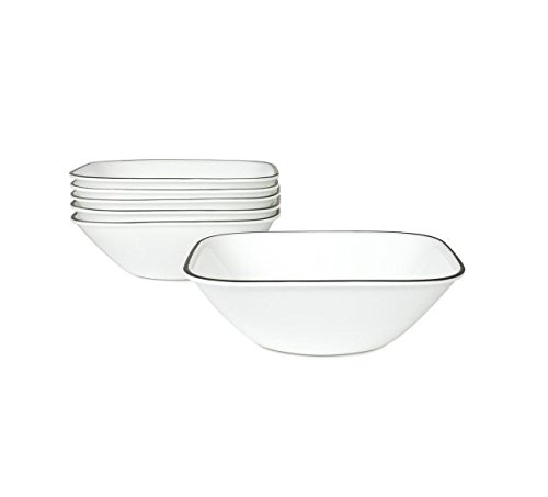 シンプルなライン22 oz Soup / Cereal Bowl [ Set of 6 ] B00M75J1LK