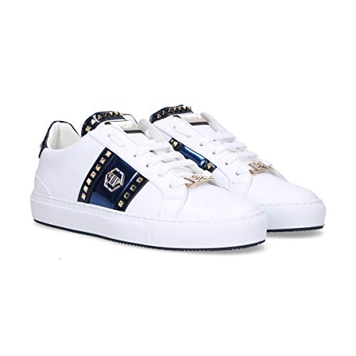 Wsc0963114 White Plein Philipp Sneakers Leather Women's EftwBBqH