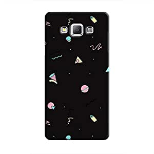 Cover It Up - Food Geometry Galaxy A5 Hard Case