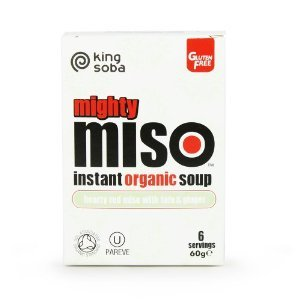 UPC 619286803009, King Soba Miso with Red Tofu & Ginger Instant Organic Soup 60g