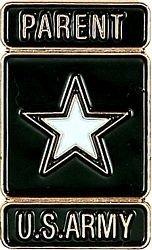US Army Parent Lapel Pin
