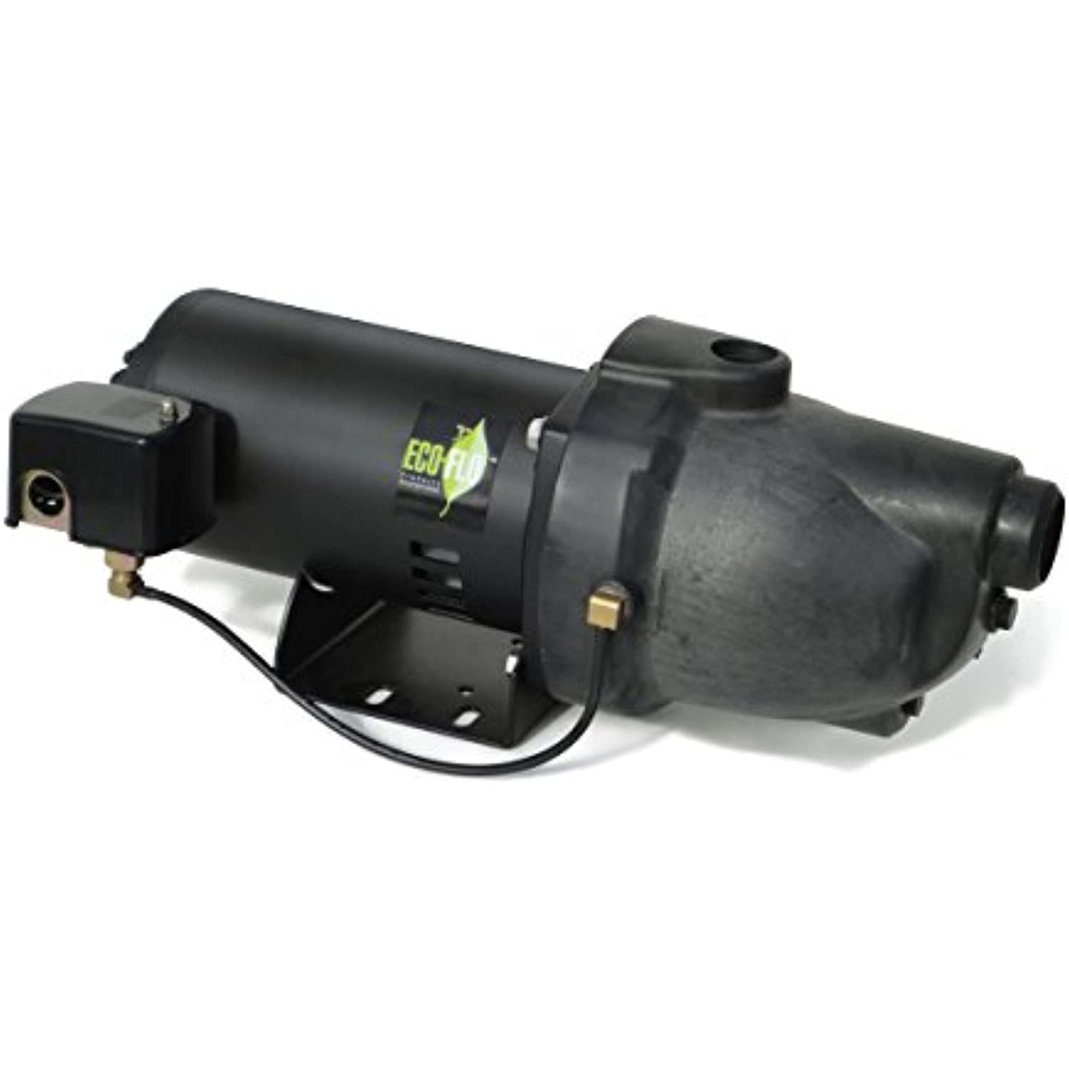 ECO-FLO Products EFSWJ7P Shallow Water Well Jet Pump, 3/4 HP, 14.1 GPM