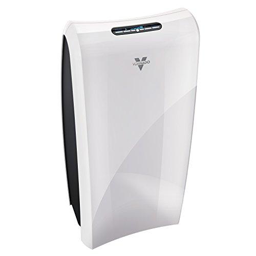 Vornado AC550 Air Purifier with True HEPA Filter, Captures Allergens, Smoke, Odors, Pollen, Dust, Mold Spores, Pet Dander