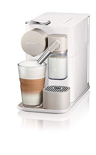 Cafetera Nespresso Lattissima One, Color Blanca (Incluye obsequio de 14 cápsulas de café)