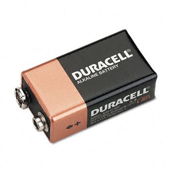 Battery Alkaline Cutop Cd/4 9v by DURCEL
